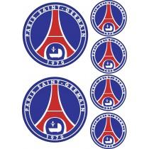 Sticker autocollant PSG