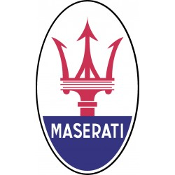 Stickers autocollant Logos Emblème Maserati