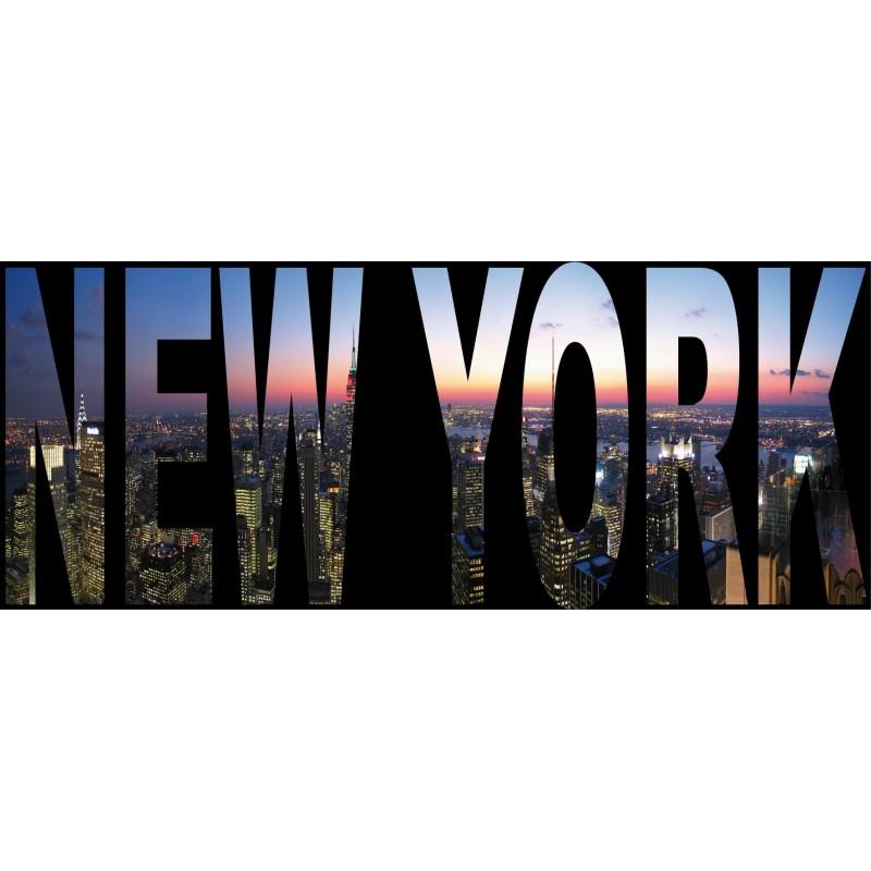 sticker g ant trompe l 39 oeil new york art d co stickers. Black Bedroom Furniture Sets. Home Design Ideas