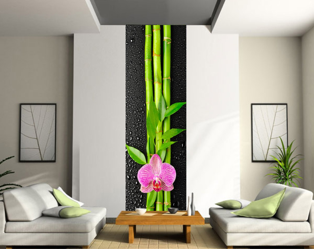 bambou deco interieur amazing salle de bain zen photo. Black Bedroom Furniture Sets. Home Design Ideas