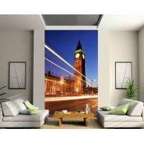 Sticker mural géant trompe l'oeil Londres