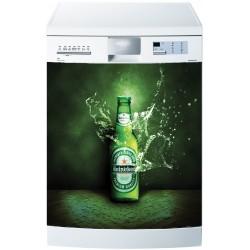 Stickers lave vaisselle ou magnet Heineken