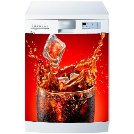 Stickers lave vaisselle ou magnet Coca Cola