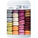Stickers lave vaisselle ou magnet Macarons