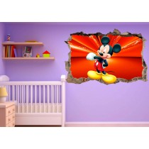 Stickers enfant 3D Mickey