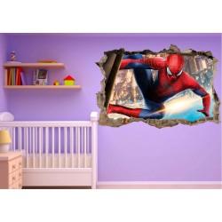 Stickers enfant 3D Spiderman