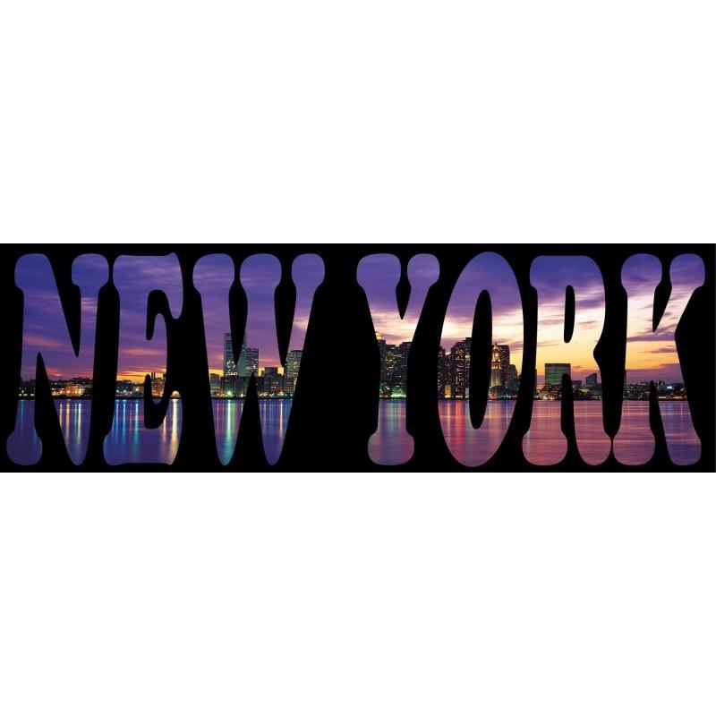 sticker mural new york art d co stickers. Black Bedroom Furniture Sets. Home Design Ideas