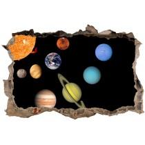 Stickers muraux 3D Planètes 23842