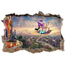 Stickers enfant 3D Aladin