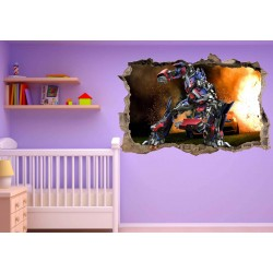 Stickers enfant 3D Transformer