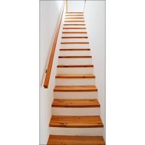 Affiche poster pour porte Escalier