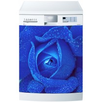 Stickers lave vaisselle Rose Bleu