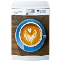 Stickers lave vaisselle Café Coeur