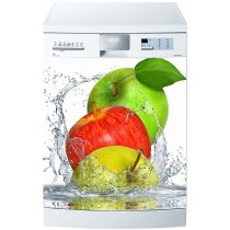 Stickers lave vaisselle Pommes