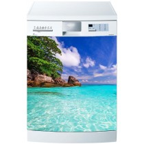 Stickers lave vaisselle Caraibes