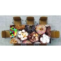 Nappe déco imprimée Donuts réf 2532