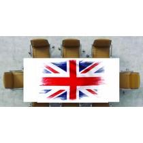 Nappe déco imprimée drapeau anglais
