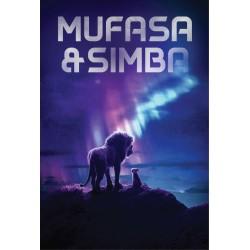 Mufasa + Simba