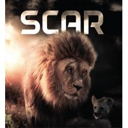 Stickers Lion Scar