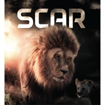 Stickers Lion Scar