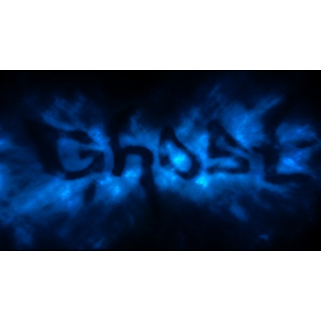 Stickers texte ghost ref NL19-014