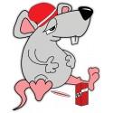 Stickers Petit Rat