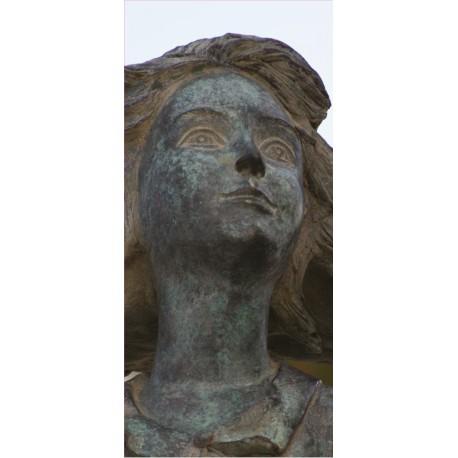 Stickers Porte Statue NL19-034