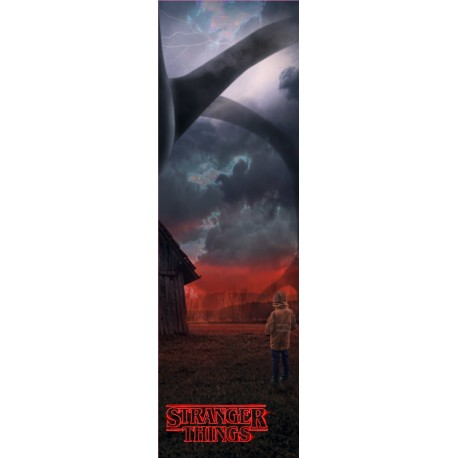 Stickers Porte Stranger Things NL19-035