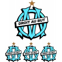 Stickers Olympique de Marseille - Stickers OM