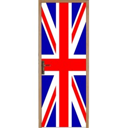 Sticker porte plane Union Jack