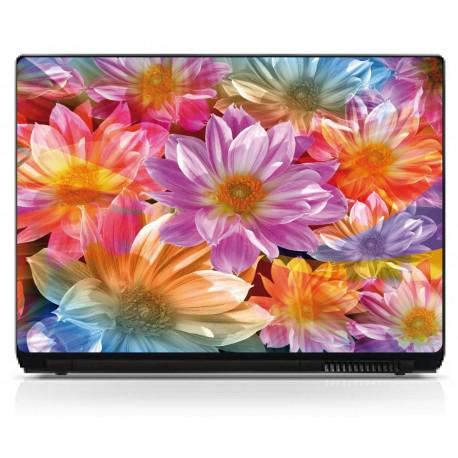 Stickers PCordinateur portable Fleurs