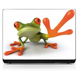 Stickers PC ordinateur portable Grenouille