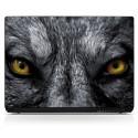 Stickers PC ordinateur portable Yeux de Loup