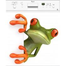 Sticker lave vaisselle Grenouille ou magnet lave vaisselle