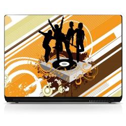 Sticker pc portable Musique