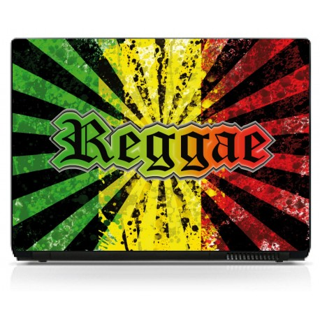 Sticker pc portable Reggae