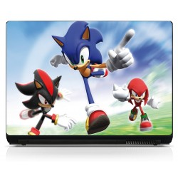 Sticker pc portable Sonic
