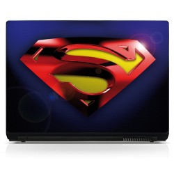 Sticker pc portable Superman