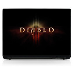 Sticker pc portable Diablo