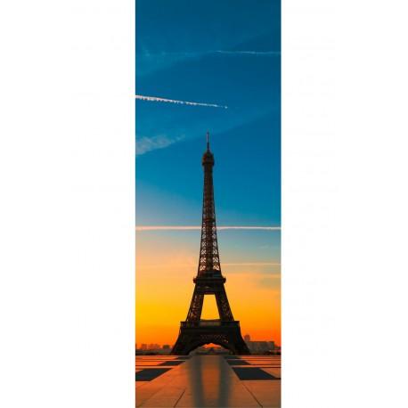Sticker trompe l'oeil Tour Eiffel
