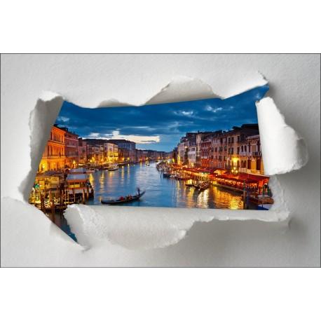 Sticker Trompe l'oeil Venise