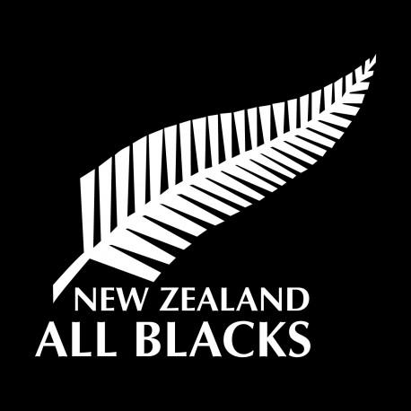 Sticker All Blacks rugby coupe du monde
