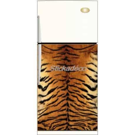 Sticker frigidaire Peau de Tigre