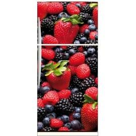 Sticker frigo électroménager déco cuisine Fruits 70x170cm