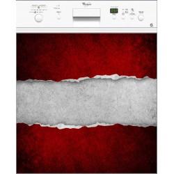 Sticker lave vaisselle ou magnet lave vaisselle Papier