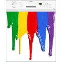 Sticker lave vaisselle ou magnet lave vaisselle Couleurs