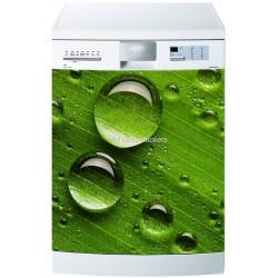 Sticker lave vaisselle ou magnet lave vaisselle Gouttes d'eau