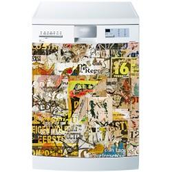 Sticker lave vaisselle ou magnet lave vaisselle Tag graphitti
