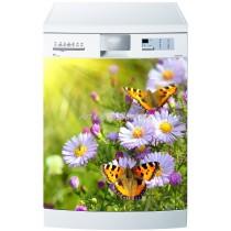 Sticker lave vaisselle ou magnet lave vaisselle Papillons