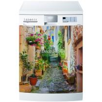 Sticker lave vaisselle ou magnet lave vaisselle Ruelle